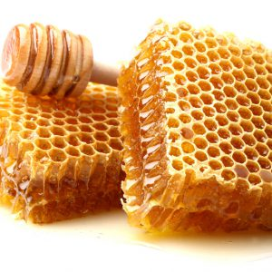 عسل با شانه